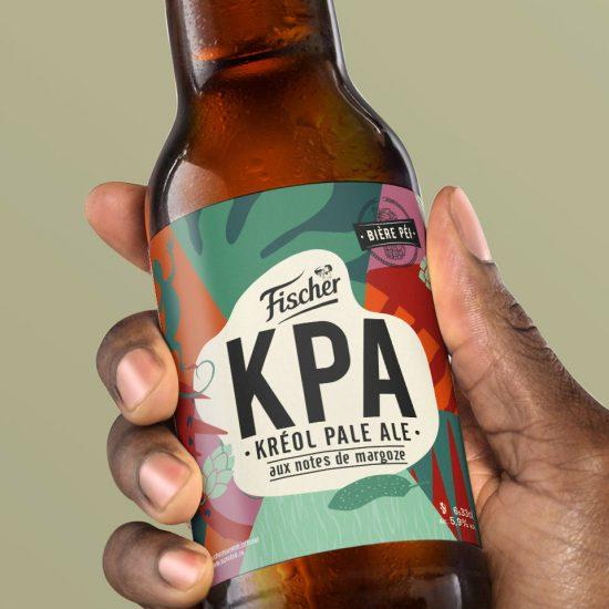projet de bière Kreol Pale Ale de Fischer