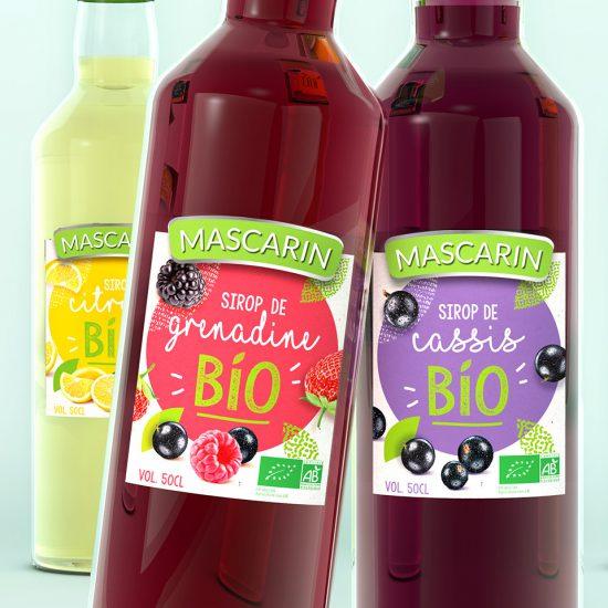 nouvelle gamme de sirops bio pour Mascarin