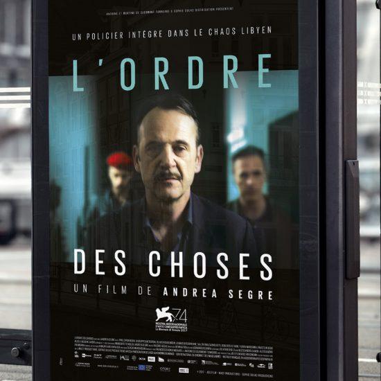 Campagne de communication pour la promotion du film L'Ordre des Choses distribué par Sophie Dulac Distribution.