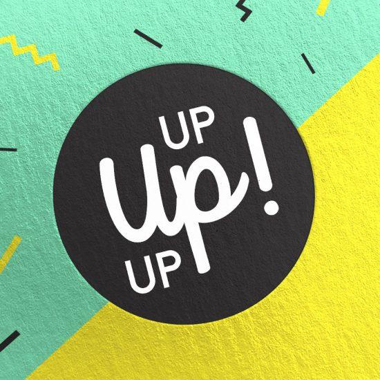 Identité visuelle agence Up Up Up ! par Jessica Larrieu